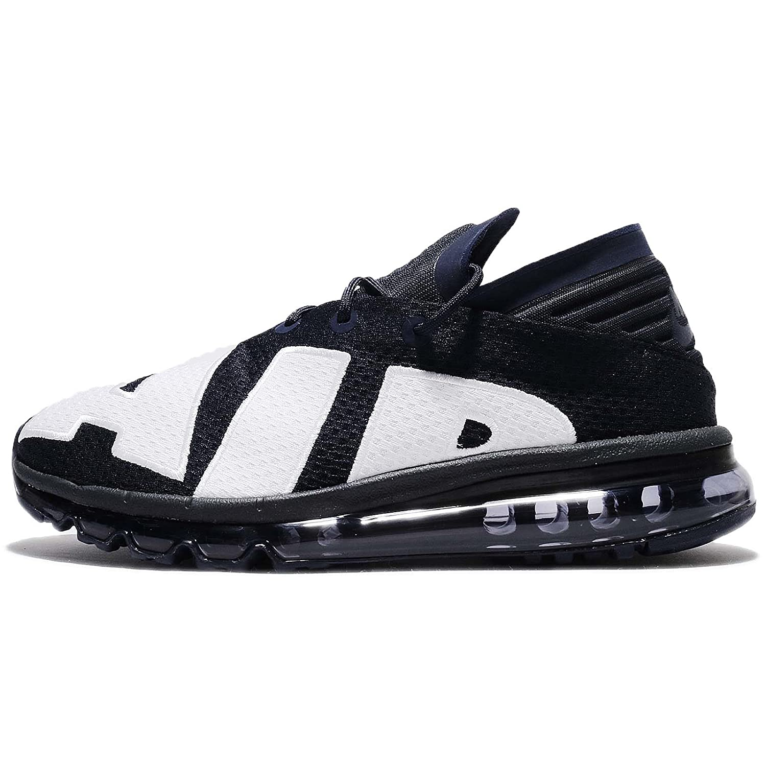 timeless design f3fbe 44a65 Amazon.com  NIKE AIR MAX FLAIR 942236 400 MENS RUNNING DARK OBSIDIAN NAVY  BLUE WHITE (9 D(M) US)  Shoes