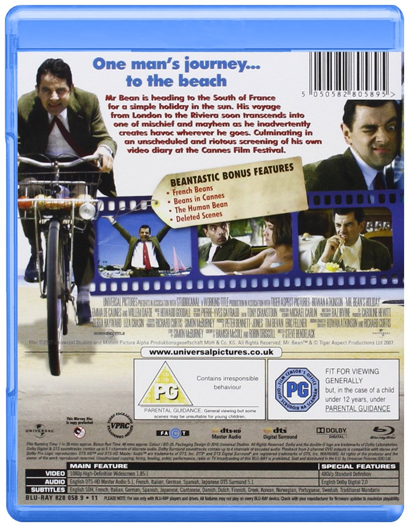 Mr beans holiday blu ray amazon rowan atkinson steve mr beans holiday blu ray amazon rowan atkinson steve bendelack dvd blu ray solutioingenieria Choice Image