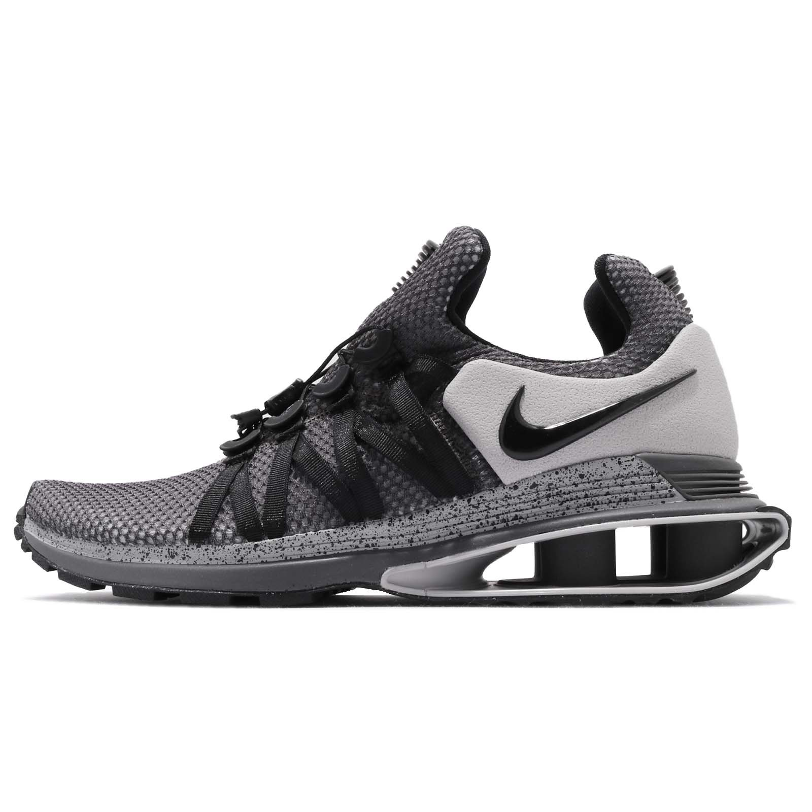 d10139641ff Galleon - Nike Men s Shox Gravity Running Shoes-Atmosphere Grey Black-8.5