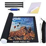 Puzzle Mat Roll Up 2000 Pieces, 16 Pieces Puzzle Glue Sheets for Puzzle Saver, Puzzle Saver Store 1000 1500 2000 Pieces, Jigs