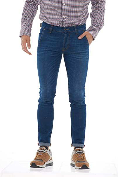 new arrival 5eb51 74fcc Roy Rogers A18RIU005D1411045 999 Denim Jeans Uomo: Amazon.co ...