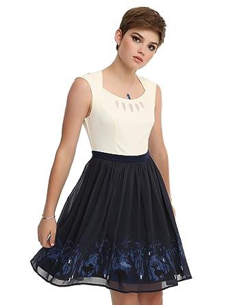 12b89ba6f8d Her Universe Studio Ghibli Princess Mononoke Forest Spirit Border Dress  (Medium) Black