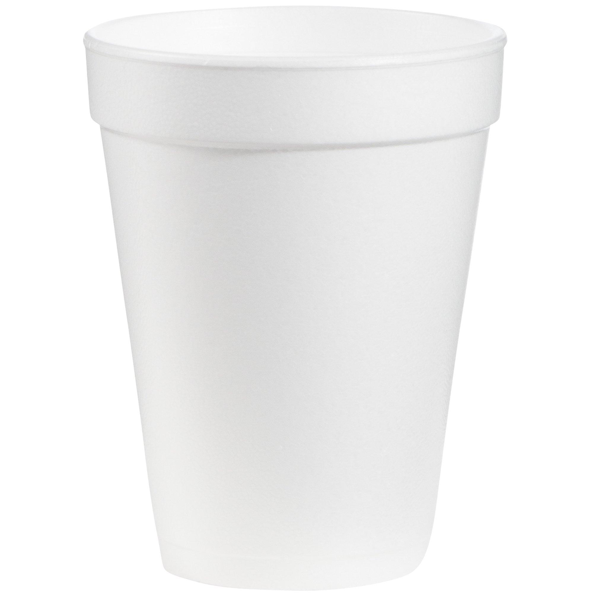 Dart DRC14J16 Styrofoam Insulated Foam Cups, 14 oz (Pack of 25)