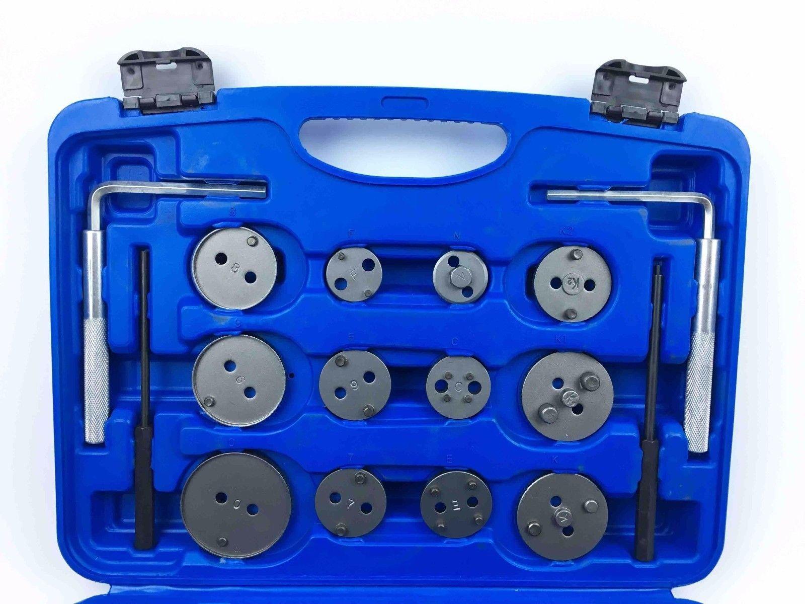 Brake Disc Caliper Wind Back Tool Kit - 35 Piece Universal Piston Rewind Set - Discs Break Pad Caliper Compressor Service Tools - by Jecr (Image #5)