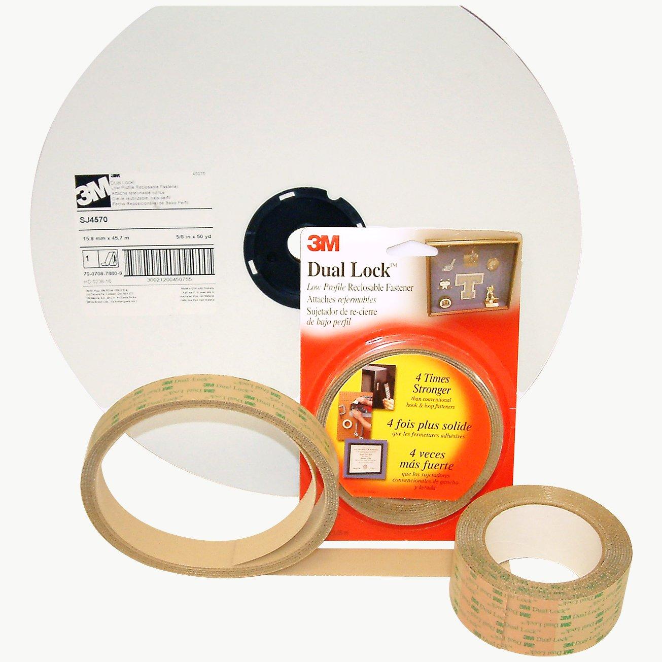 Amazon.com: 3M Scotch SJ4570 Dual Lock Low Profile Reclosable Fastener: 5/8 in. x 10 ft. (Clear): Home Improvement