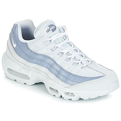 NIKE Air Max 95 Essential, Sneakers Basses Homme, Multicolore (Pure  Platinum White 64ac129f4d58