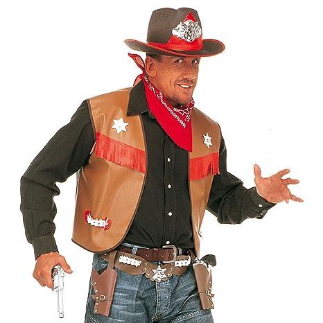 Revolverheld Cowboy Kostüm Western Gunman Poncho Herren