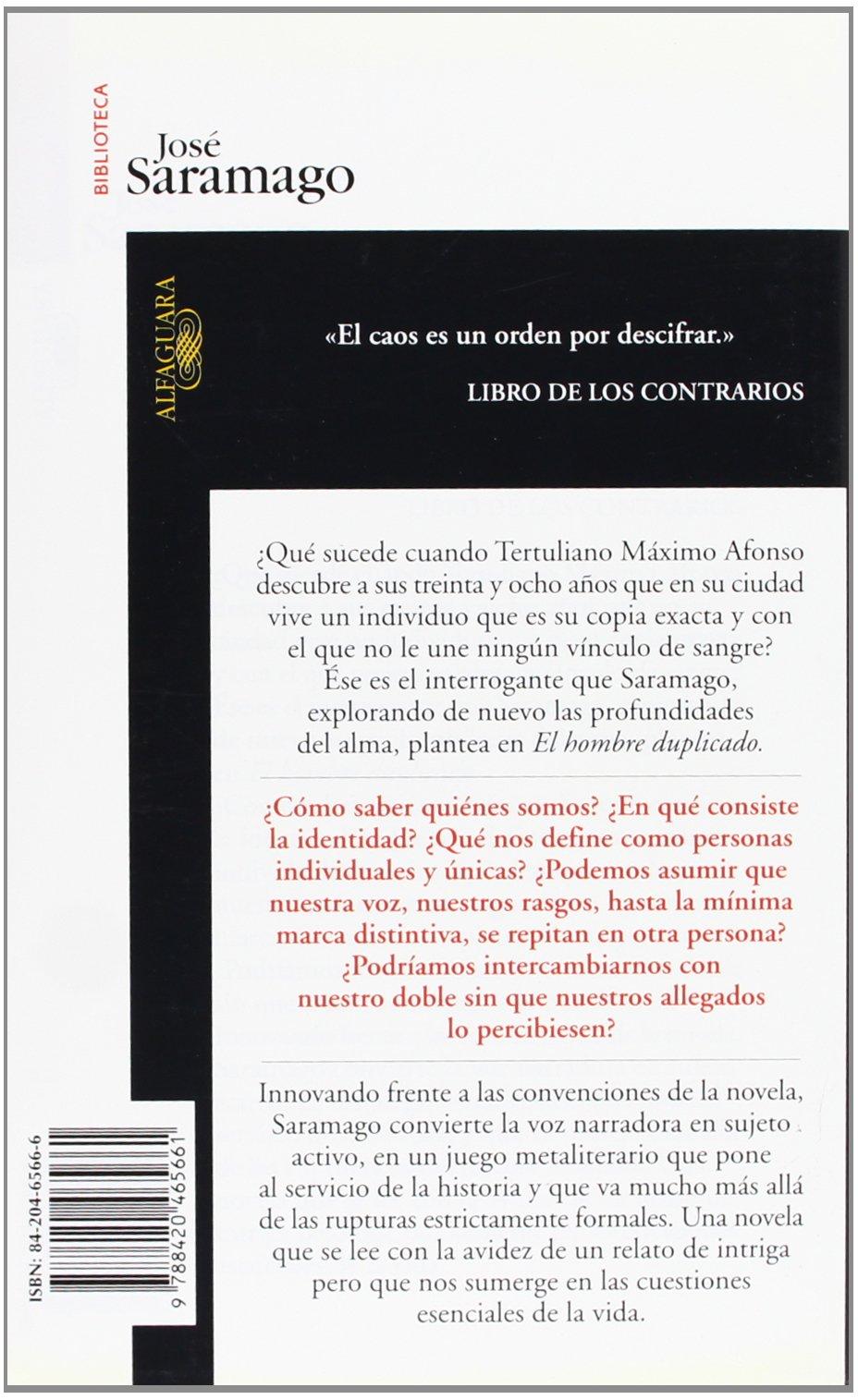 El hombre duplicado (Biblioteca Saramago): Amazon.es: José Saramago: Libros
