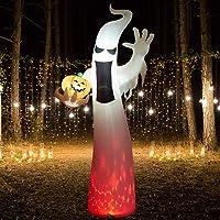 Superjare 8-Ft Halloween Inflatable Ghost Deals