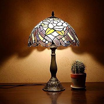 Tiffany lamparas de Mesa,Lámpara Tiffany Vintage de vitrales para ...
