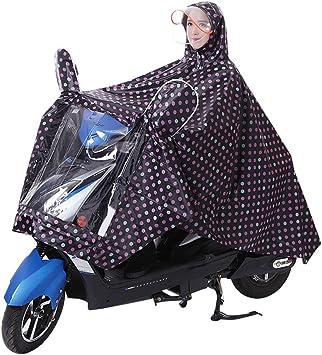Poncho de lluvia impermeable unisex con capucha, portátil, para ...