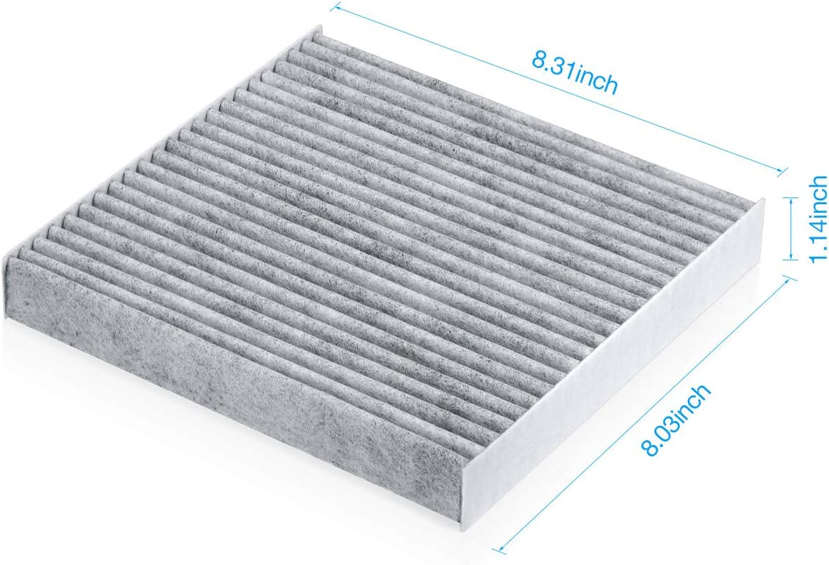 Housmile Premium Cabin Air Filter Replacement for FRAM CF11182 EPAuto CP182 Spearhead BE-182 Compatible for Honda//Renault//Acura