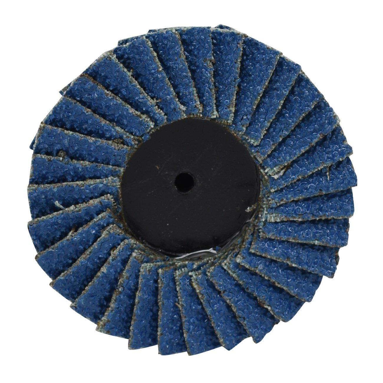 Neiko Roloc Type 2-Inch Flap Disc 10 Pieces 60 Grit Zirconia