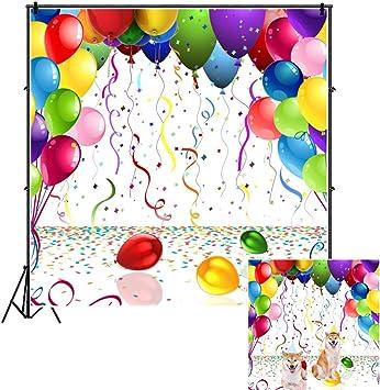Ofila Globos De Colores De 5 9 X 5 9 Ft Decoración De Fiesta De Cumpleaños Para Niños Adultos Adultos Adultos Adultos Adultos Cumpleaños Fiestas Fiestas De Graduación Fiestas De Té Fiestas De