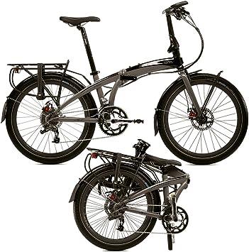 tern Eclipse S18 - Bicicletas plegables (7/8 velocidades) - gris ...