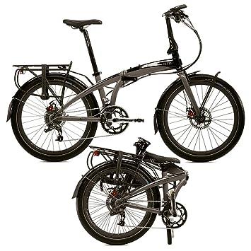 tern Eclipse S18 - Bicicletas plegables (7/8 velocidades) - gris/negro