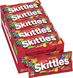 Skittles Original Candy, 2.17 Ounce 36-Count Box