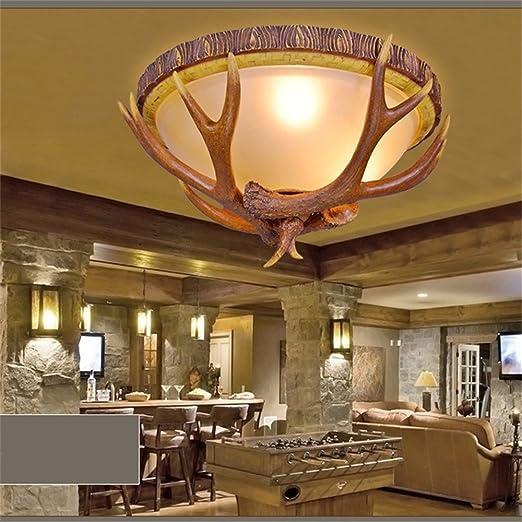 Resina ZSQ Astas Lámparas de techo Art Decó Lámparas de ...