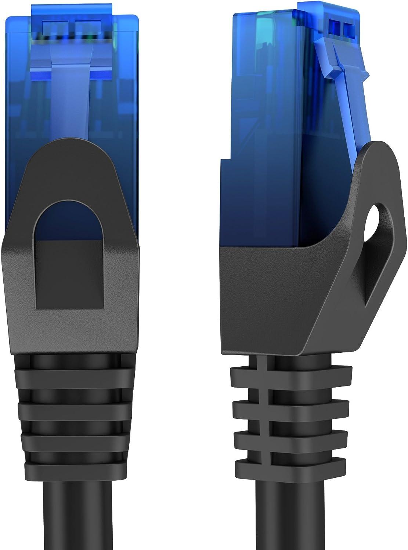 30m Netzwerkkabel Ethernet Lan Patch Kabel überträgt Maximale Glasfaser Geschwindigkeit Ist Geeignet Für