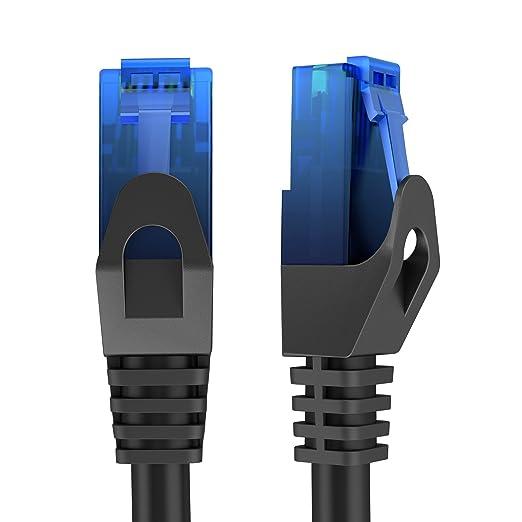 7 opinioni per KabelDirekt Cavo di Rete Ethernet (Cat6, LAN, Gigabit Ethernet, RJ45, UTP, ) 0,5