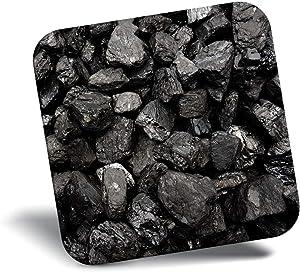 Destination Vinyl ltd Awesome Fridge Magnet - Black Coal Rocks Geology 3204