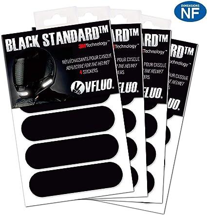 VFLUO Black Standard™, (Paquete de 4) Kit de 4 Pegatinas Retro ...