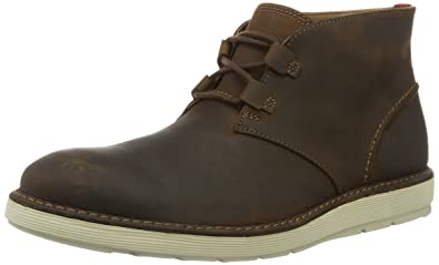 Clarks Fayeman Hi, Desert Boots Homme, Marron (Beeswax), 43 EU