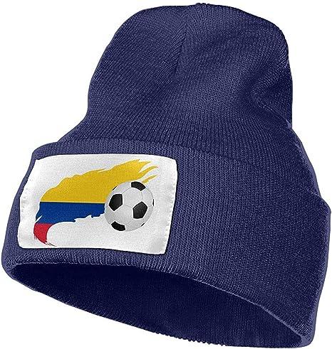 Balón de fútbol con Bandera de Colombia Hombres y Mujeres Gorras ...
