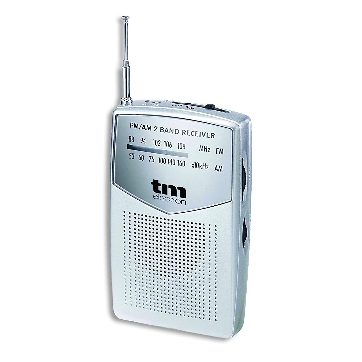 TM Electron TMRAD024S - Radio analógica portátil FM/Am, Color ...