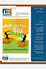 The Retirement Management Journal: Vol. 4, No. 1, Special Double Issue (Volume 4) Paperback
