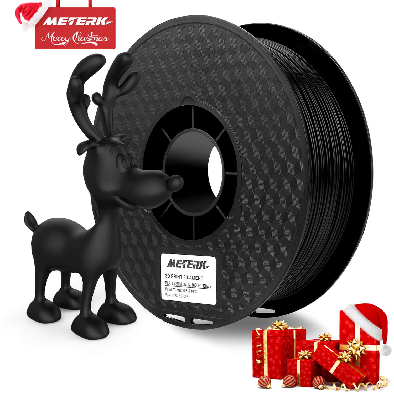Filamento de la Impresora 3D, Meterk Filaments for 3D Printer Material de Impresión ABS PLA 1kg/2.2LBS 3D Printing Filament Cable de Impresión 3D 1.75 ...