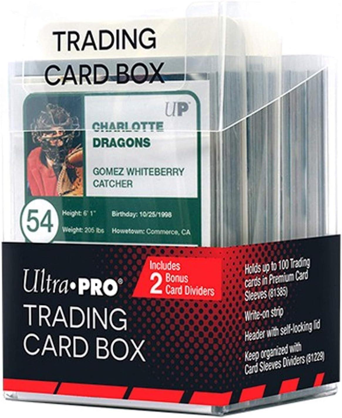 Ultra Pro E-85670 Caja de Tarjetas de Intercambio: Amazon.es: Juguetes y juegos