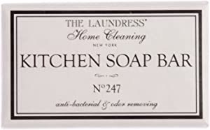 The Laundress - Kitchen Soap Bar No. 247, Hands & Kitchen Utensils, Antibacterial & Odor Removing, Non-Toxic & Allergen Free, 4.4 oz, Pack of 1