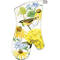 Michel Design Works Padded Cotton Oven Mitt, Tranquility