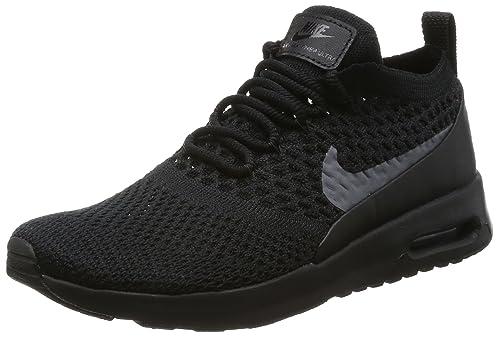 Nike Women's Air Max Thea Ultra FK Running Shoe (6 B(M) US) BlackDark Grey
