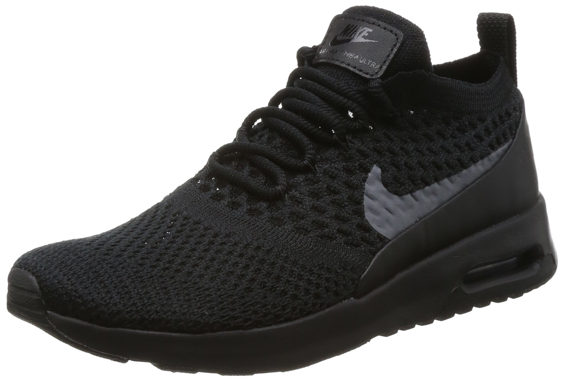 NIKE Women's Air Max Thea Ultra Flyknit Trainers, (Black/Dark Grey), 7 UK 41 EU