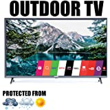 "Outdoor TV Full Weatherized 43"" UHD Smart Weatherproof LED Television Sealoc 4K"