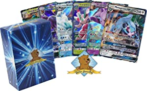 5 Pokemon Card Lot - All GX Ultra RARES! All 200 HP or Higher! No Duplication! Includes Golden Groundhog Box!