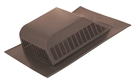 Great Ventamatic SBV 603 GVWG Galvanized Screened 51 Square Inch Static Roof Vent  With Slant Back,