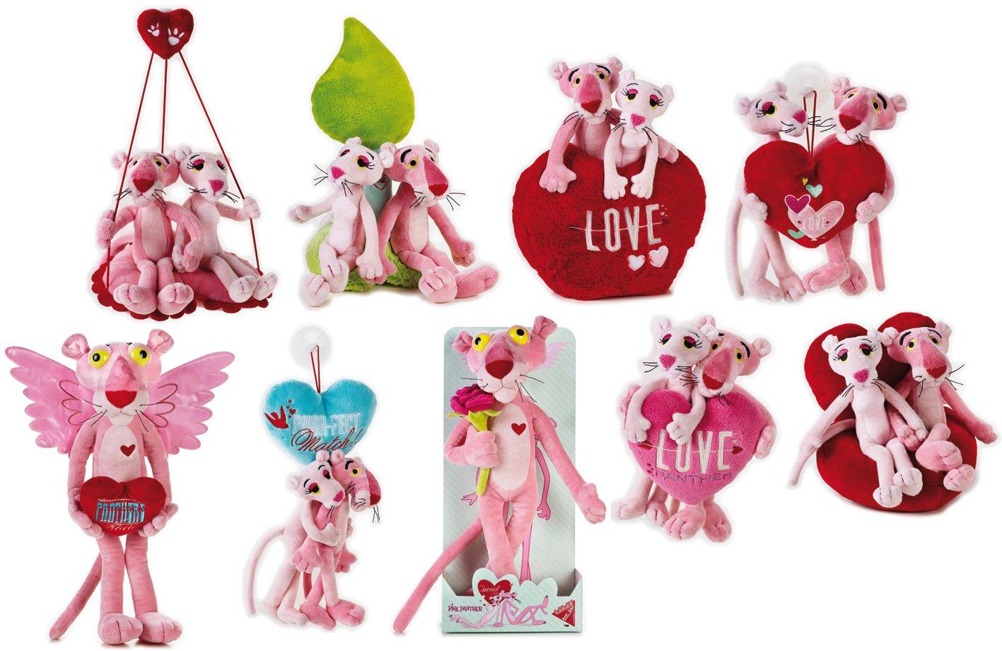 Lelly Surtido de Peluche de San Valentín Panther (Rosa): Amazon.es: Juguetes y juegos