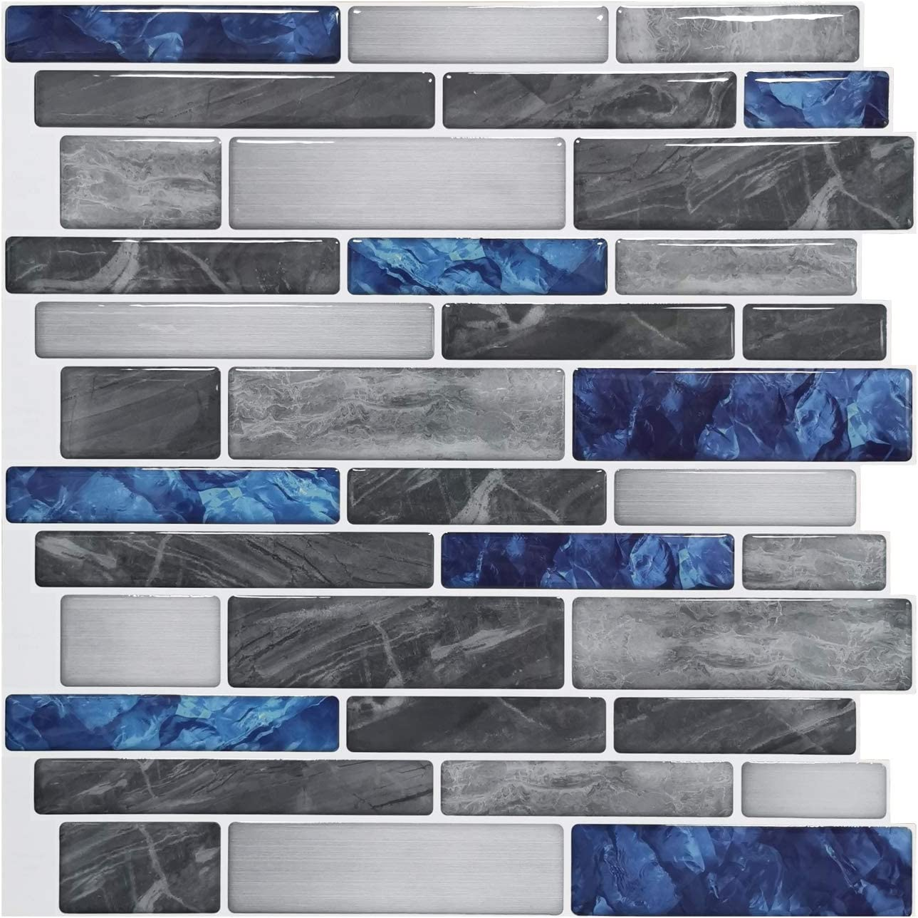 - Art3d 10-Sheet Premium Self-Adhesive Kitchen Backsplash Tiles In