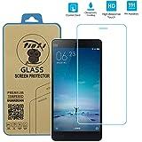 tinxi® Protection écran Xiaomi Mi4C(5,0 pouces) Film de protection d'écran en verre trempé pour Xiaomi Mi 4C protecteur optimal et ultra dur protecteur d'écran en verre trempé Transparent 2.5D