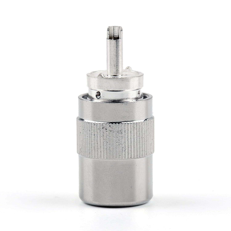 Areyourshop - Conector UHF macho PL259 Soldadura RG8 RG213 LMR400 ...