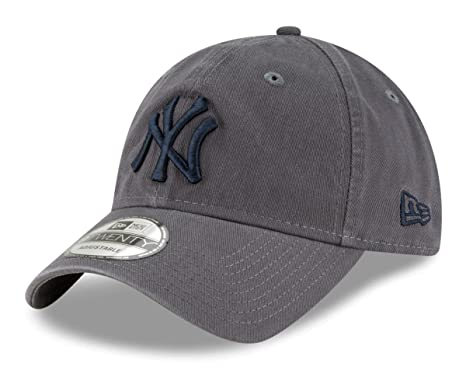 7792f55921649 Image Unavailable. Image not available for. Color  New Era New York Yankees  MLB 9Twenty Twill Core Classic Adjustable ...