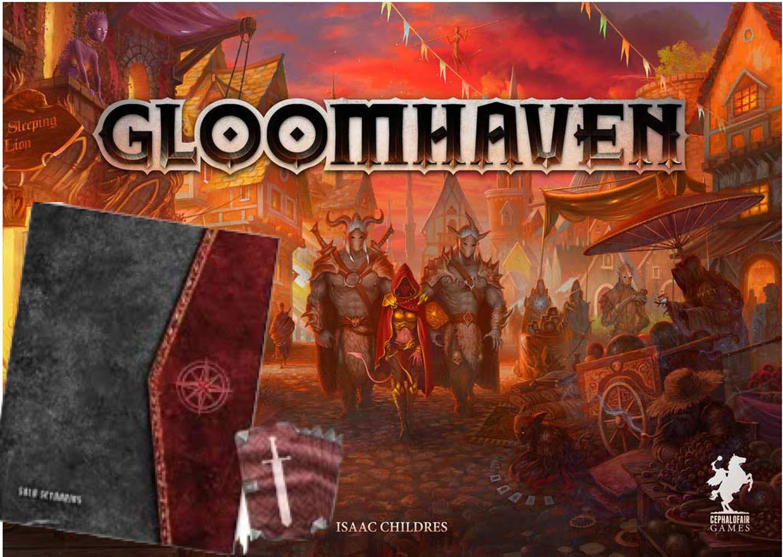 Gloomhaven ボードゲーム ソロ拡張 B07NQP8J5R