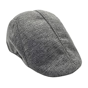 6a80c70f1bf6 Image Unavailable. Image not available for. Color: Flat Gatsby Hat for Men,  Big Sale! Iuhan Flat Ivy Newsboy Driving Hat Cap