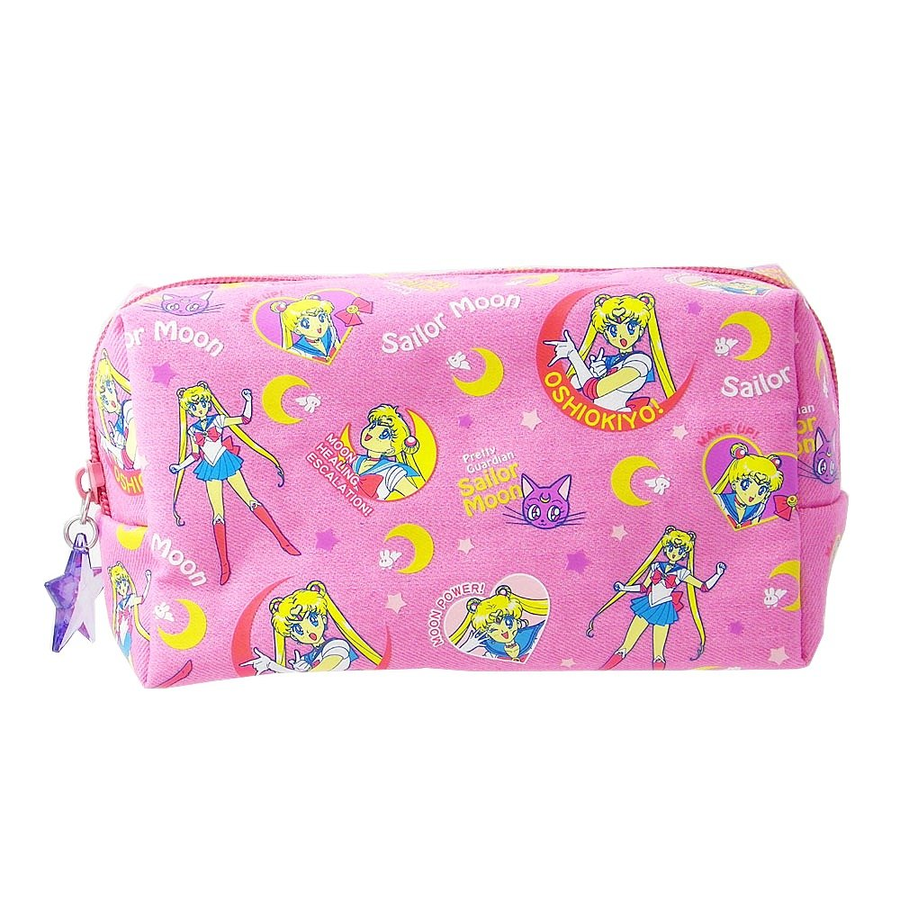 Sailor Moon Denim Pen Case Pouch (Pink) by Sun-Star Stationery