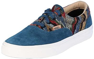 11dc191a6a Image Unavailable. Image not available for. Color  Vans Unisex Era  California Skate Shoes-Italian Weave Atlantic Deep-7-Women
