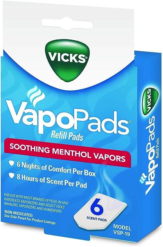Vicks VapoPads Refill Menthol Scent x 7 Pads