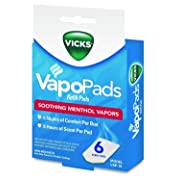 Vicks VapoPads, 6 count refill pads, VSP-19